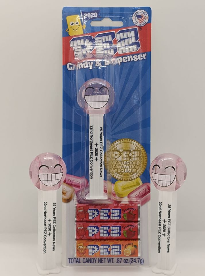25th Anniversary PEZ Collectors News dispenser